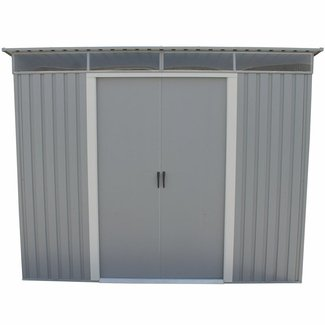 8.5 ft. W x 6 ft. D Metal Storage Shed