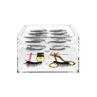 Acrylic False Eyelashes Holder & Makeup Tools Storage