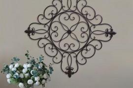 Large Fleur De Lis Wall Decor