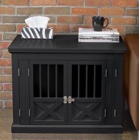 Wood Dog Crate Furniture Visual Hunt