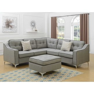 Miraculous 50 Gray Sectional With Ottoman Youll Love In 2020 Visual Alphanode Cool Chair Designs And Ideas Alphanodeonline