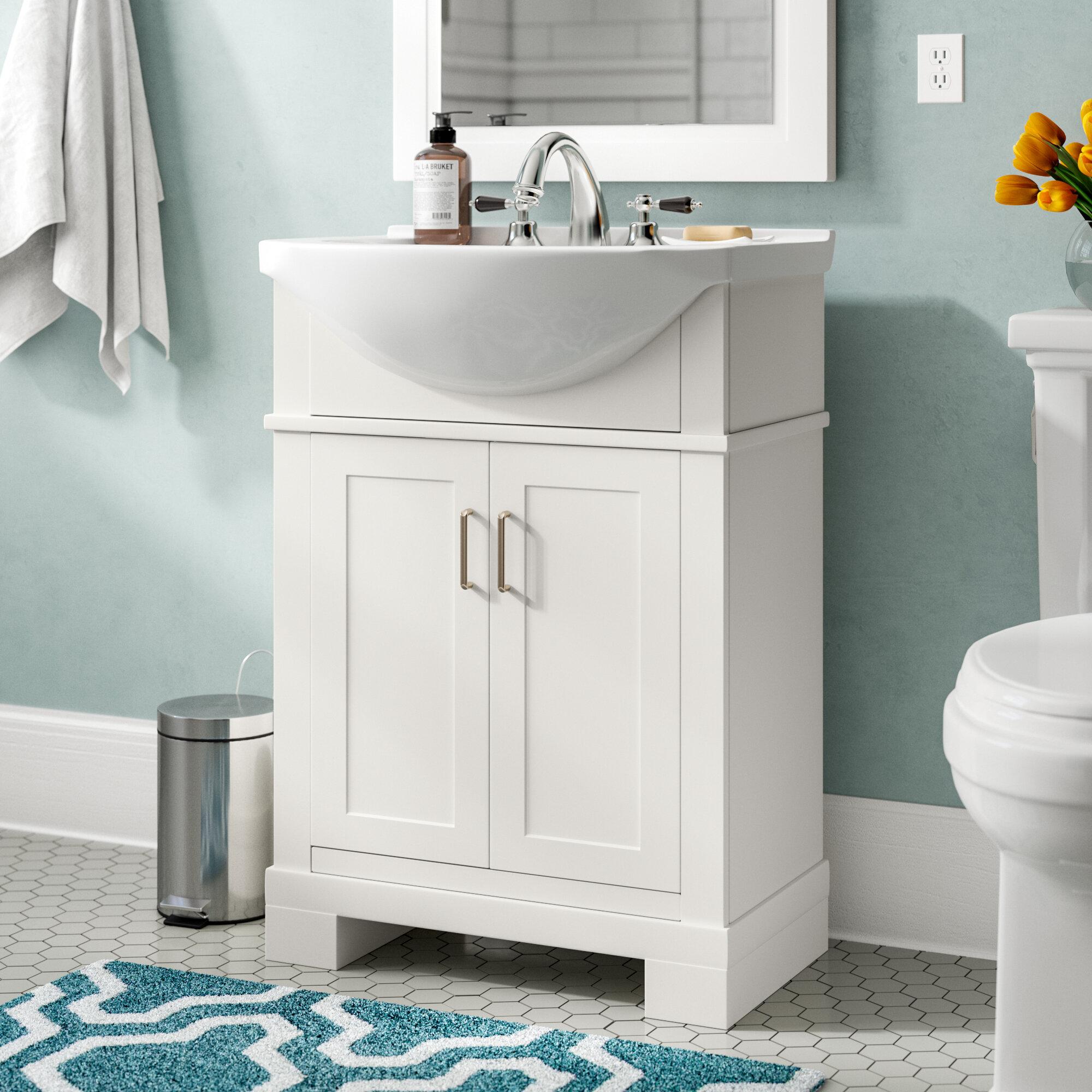Narrow Depth Bathroom Vanity You Ll, Narrow Width Bathroom Vanity
