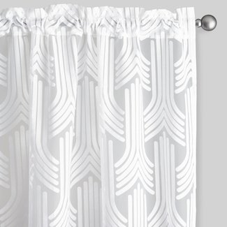 50 Art Deco Curtains You Ll Love In