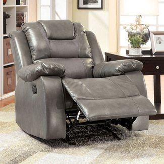 Asensio Bonded Manual Glider Recliner