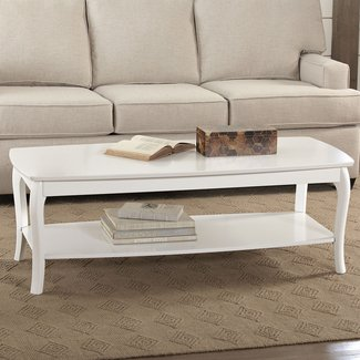 Delwood Coffee Table.White High Gloss Coffee Table Visual Hunt
