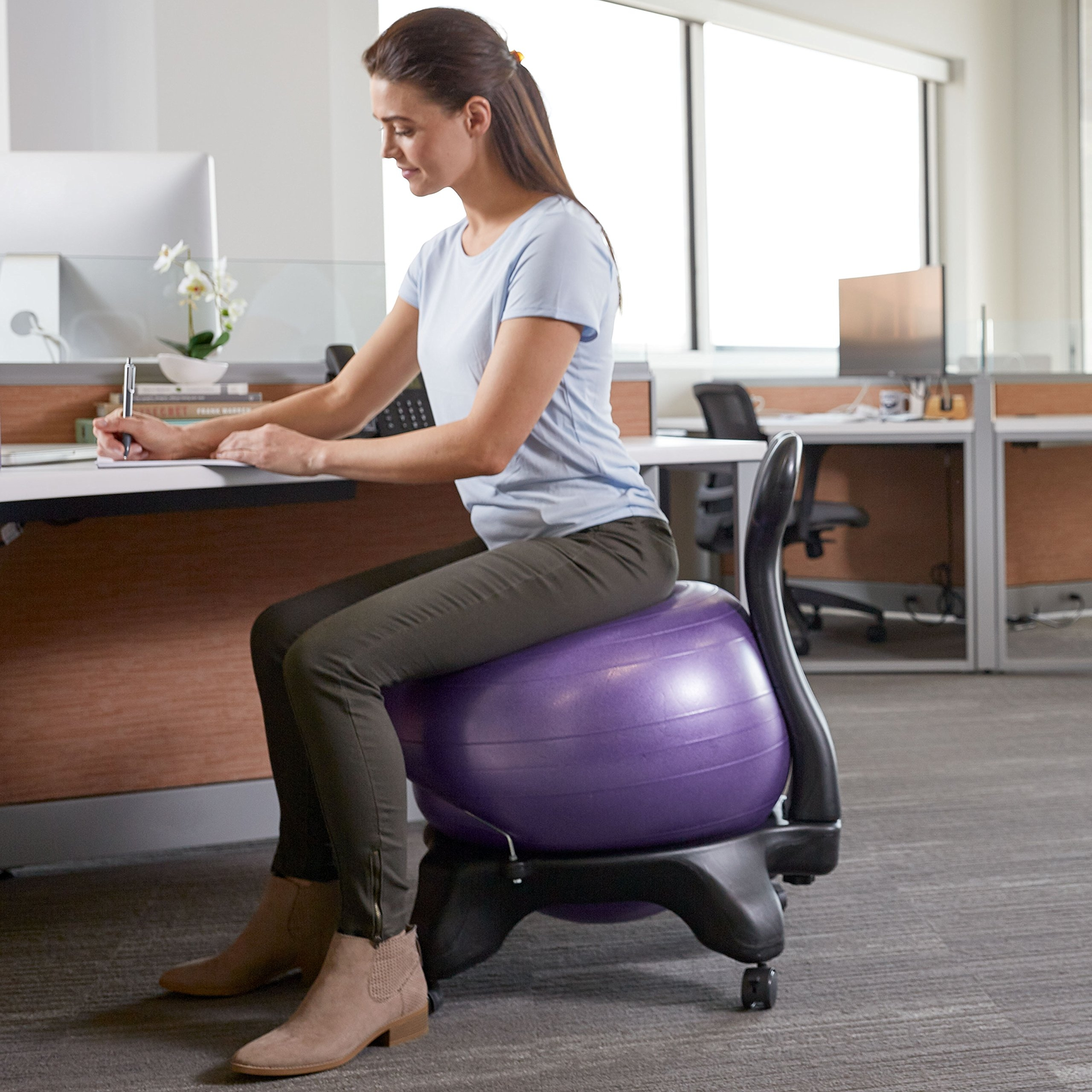 Balance Ball Yoga Chair