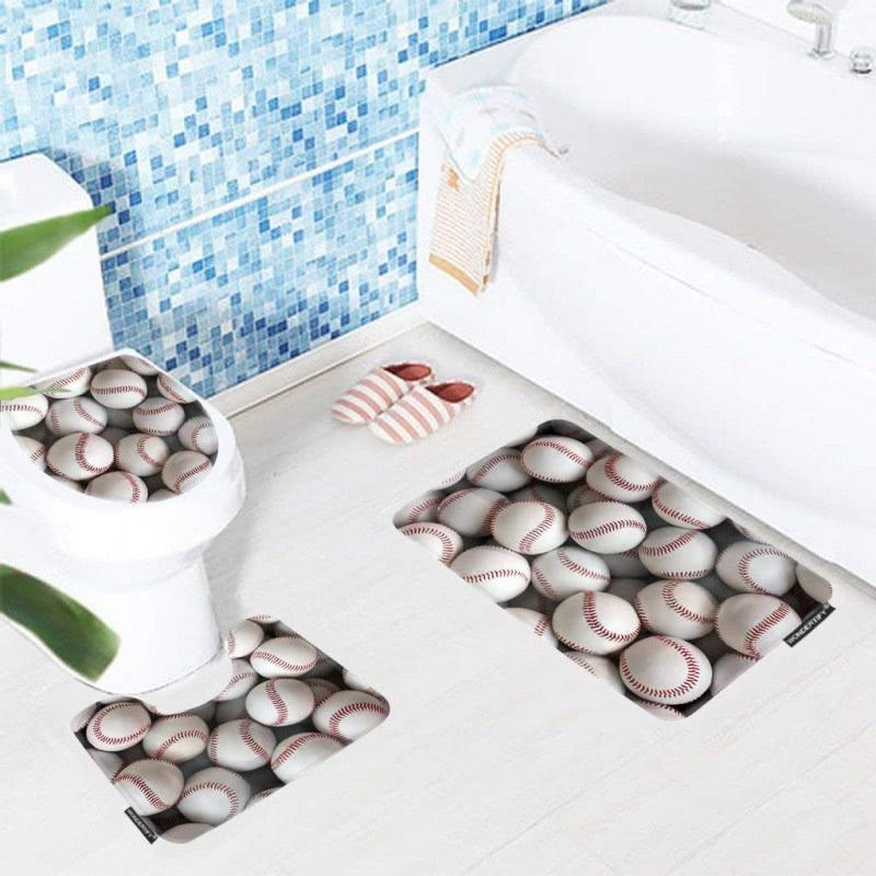 50+ Baseball Bathroom Decor You'll Love in 2020 - Visual Hunt