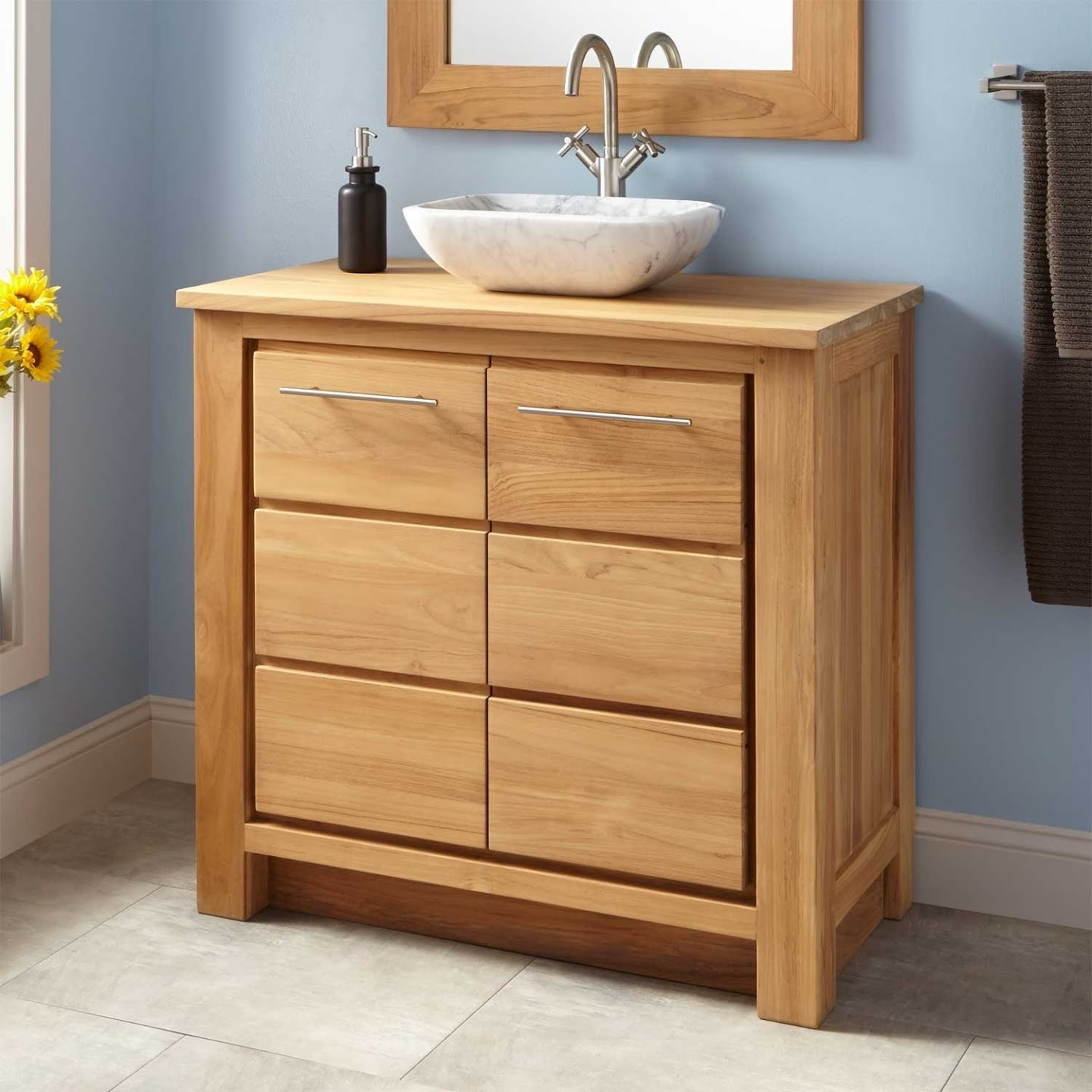 Narrow Depth Bathroom Vanity You Ll Love In 2021 Visualhunt