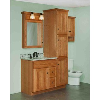 Bathroom Vanity and Linen Cabinet Combo You'll Love in ...