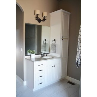 50 Bathroom Vanity And Linen Cabinet Combo You Ll Love In