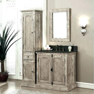 Bathroom Vanity And Linen Cabinet Combo You Love