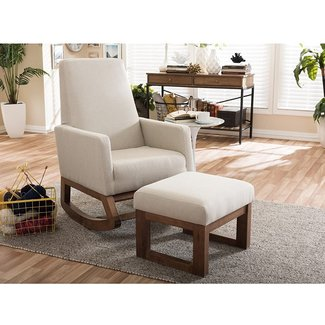 Groovy 50 Upholstered Rocking Chair Youll Love In 2020 Visual Hunt Bralicious Painted Fabric Chair Ideas Braliciousco