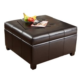 50 Square Leather Ottoman Coffee Table You Ll Love In 2020