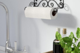 Decorative Paper Towel Holder Wall Mount