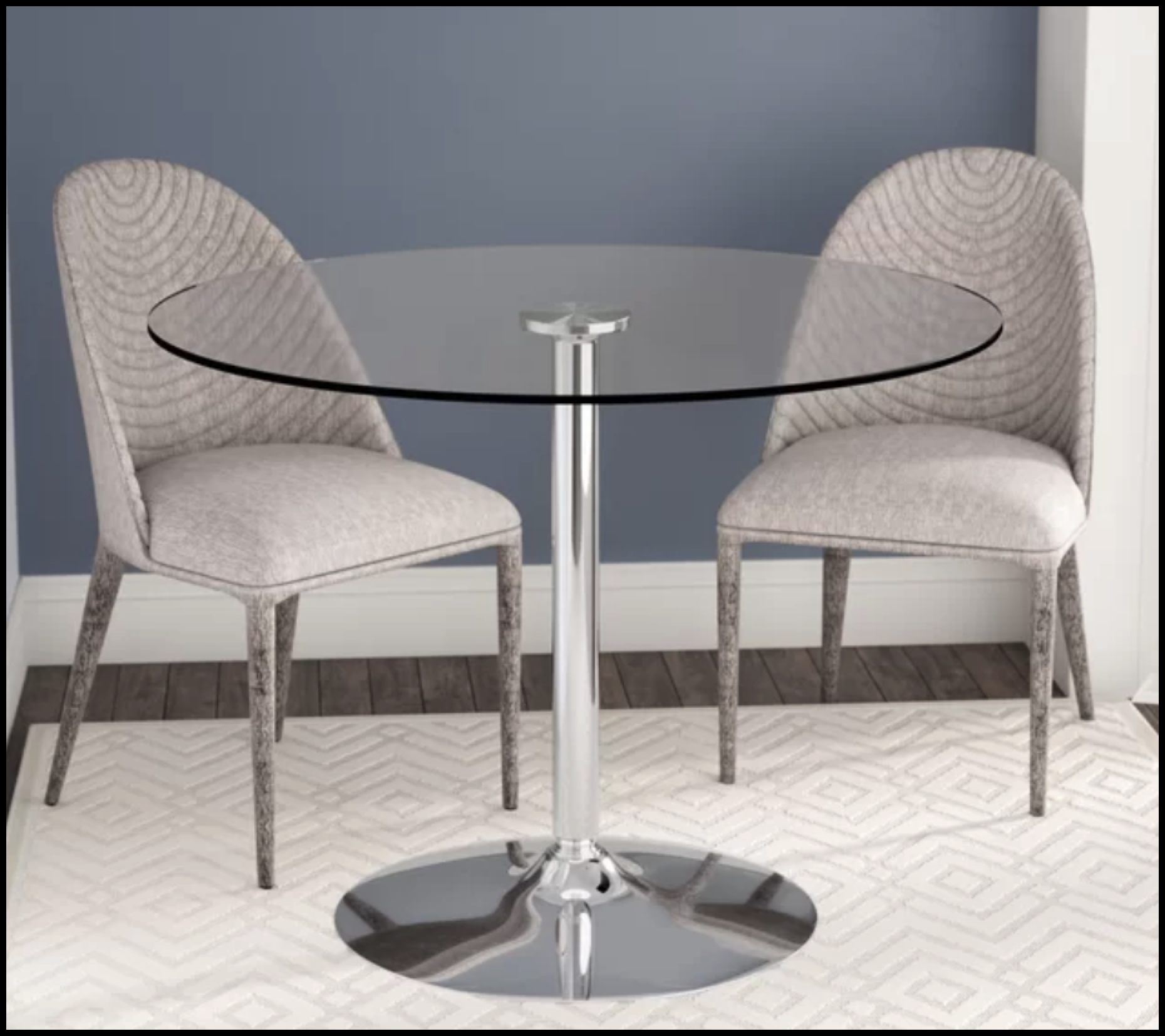 Circle Glass Table You Ll Love In 2021 Visualhunt