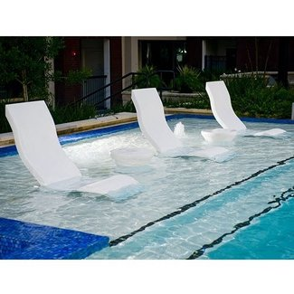 Outdoor Natural Gas Fire Pit Table, 50 In Water Pool Lounge Chairs You Ll Love In 2020 Visual Hunt