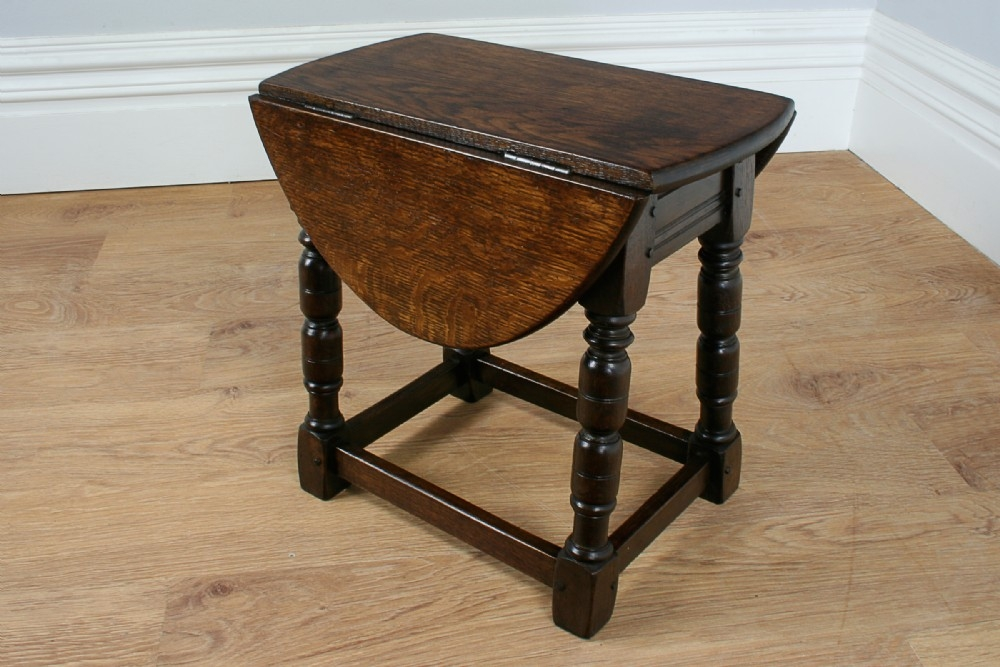 Drop Leaf Coffee Table You Ll Love In 2021 Visualhunt - Antique Small Oak Side Table With Drawer
