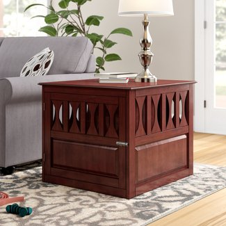 Wood Dog Crate Furniture Visual Hunt