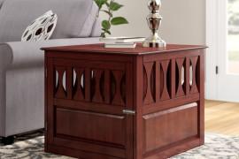 Wood Dog Crate Furniture
