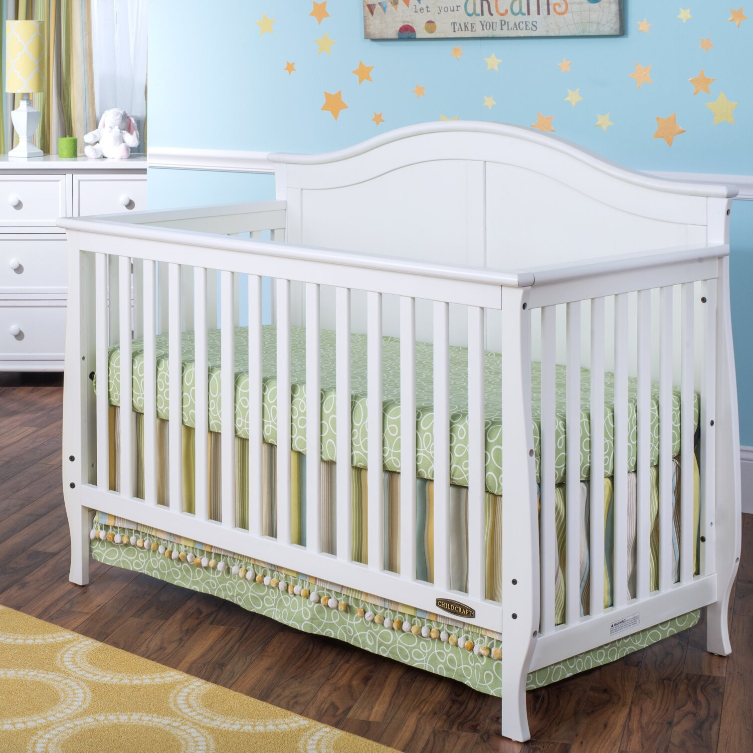 Child Craft 4-in-1 Convertible Crib
