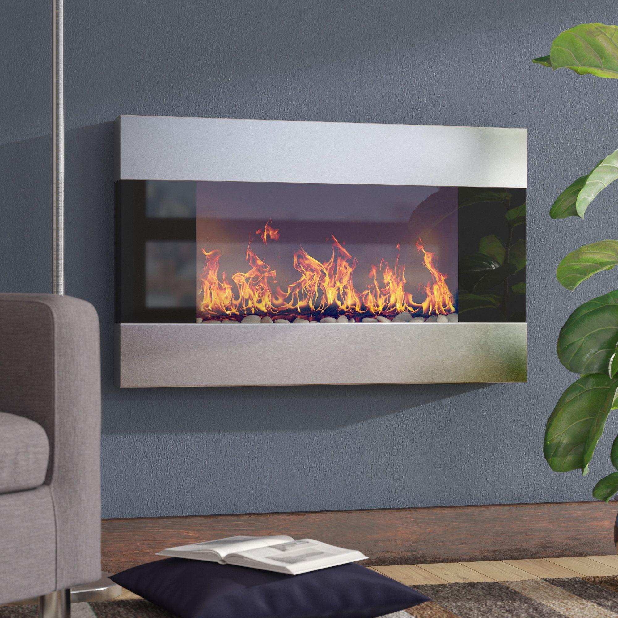 Decorative Electric Fireplace Visual Hunt
