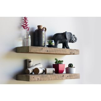 Astounding Reclaimed Wood Floating Shelves Visual Hunt Download Free Architecture Designs Rallybritishbridgeorg