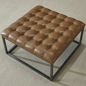 Surprising 50 Square Leather Ottoman Coffee Table Youll Love In 2020 Caraccident5 Cool Chair Designs And Ideas Caraccident5Info