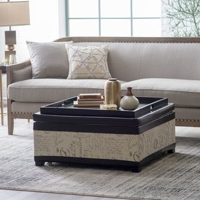 Excellent 50 Square Leather Ottoman Coffee Table Youll Love In 2020 Squirreltailoven Fun Painted Chair Ideas Images Squirreltailovenorg