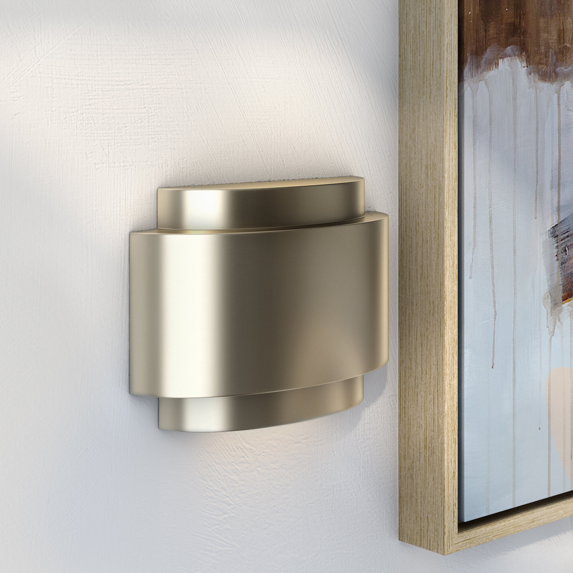 Contemporary Door Chime In Stainless Steel