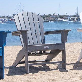 Corinne Poly Plastic Adirondack Chair