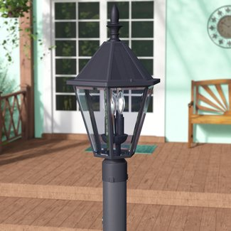 Crisler Solar 3-Light LED Lantern Head