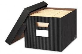 Decorative File Boxes With Lids