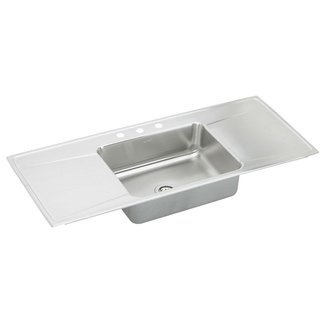 50 Stainless Steel Sink With Drainboard You Ll Love In