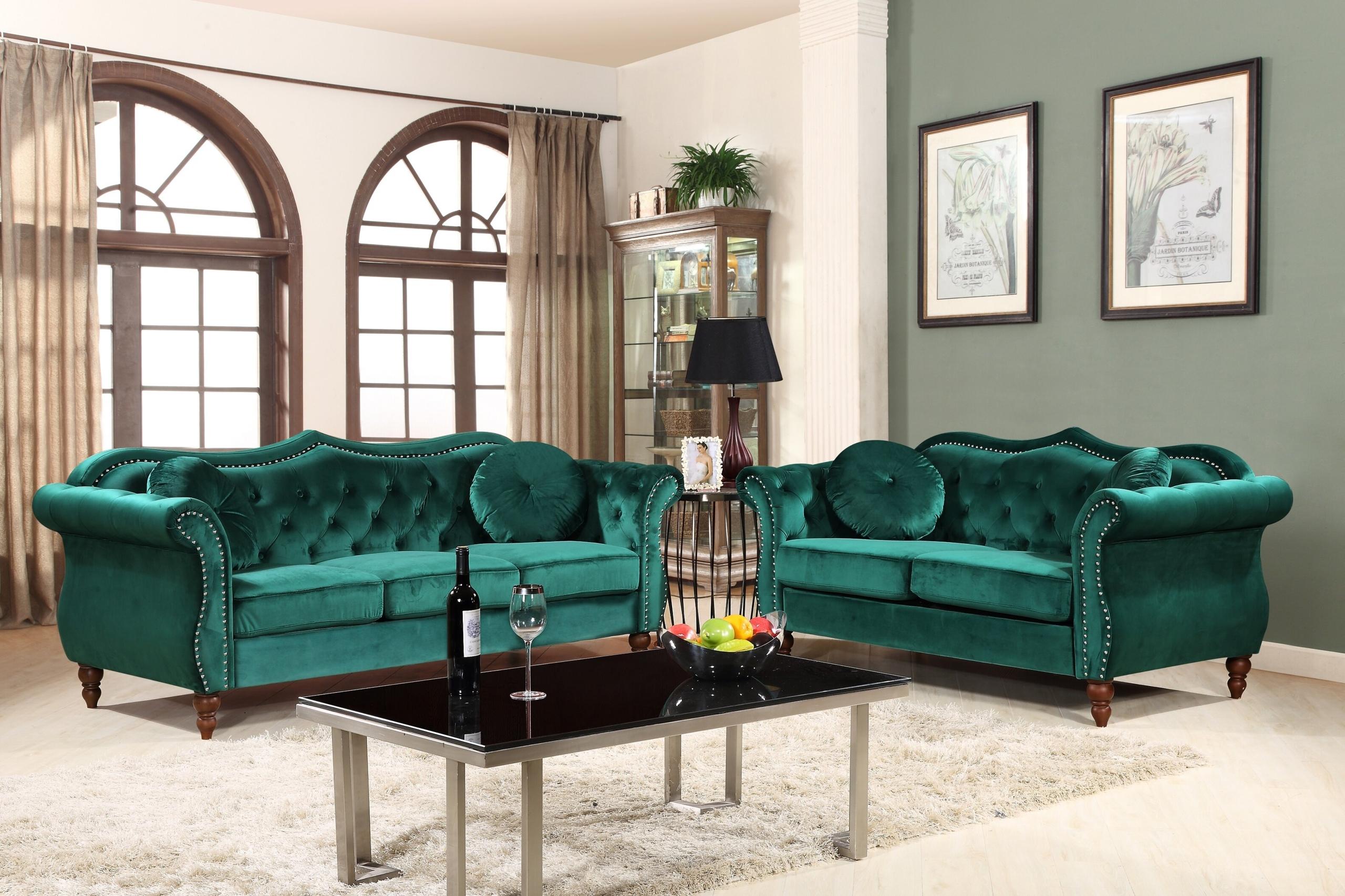 Emerald Green Sofa You Ll Love In 2020 Visualhunt