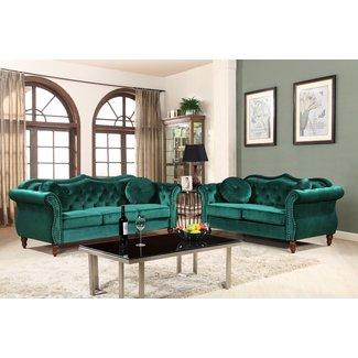 50+ Emerald Green Sofa You\'ll Love in 2020 - Visual Hunt