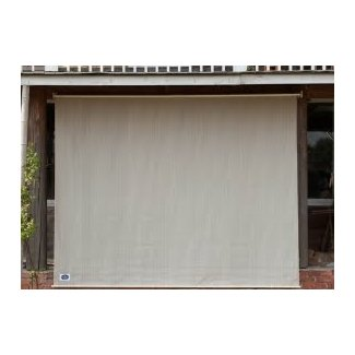 Exterior Cordless Room Darkening Outdoor Roller Shade