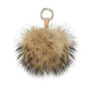 Mohair Black Pom pom Hat With Fleece Lining. Removable LargePurple Genuine Raccoon Fur Pom Pom,Pom Can Be Used as Keychain Bag Charm