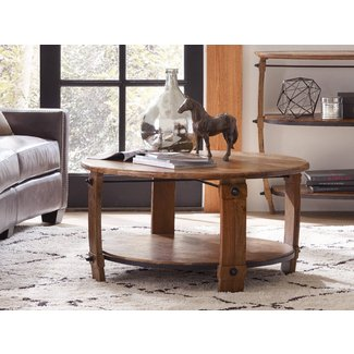 Glen Hurst Wine Barrel Coffee Table