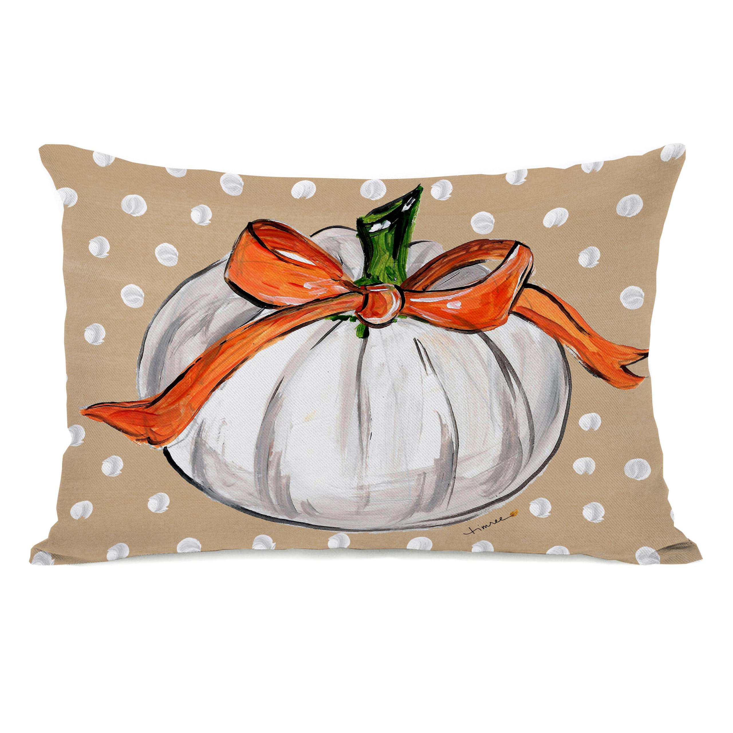 Halloween Pumpkins Lumbar Pillow