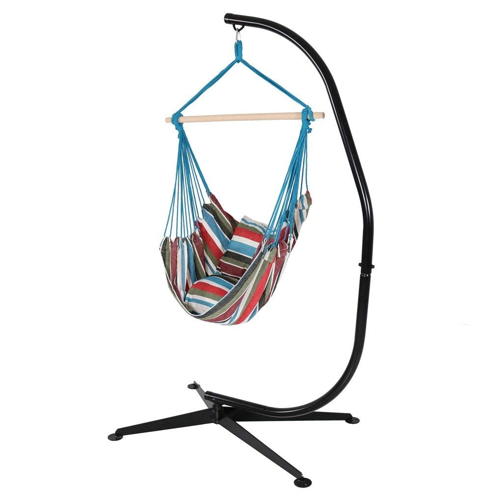 Hammock Chair With Stand You Ll Love In 2020 Visualhunt