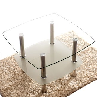 Two Tier Glass Coffee Table Visual Hunt