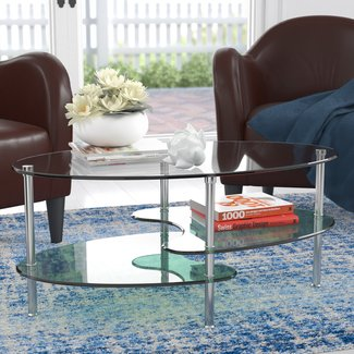 Hefner Two Tier Coffee Table