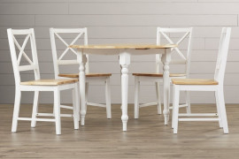 White Dining Table Set