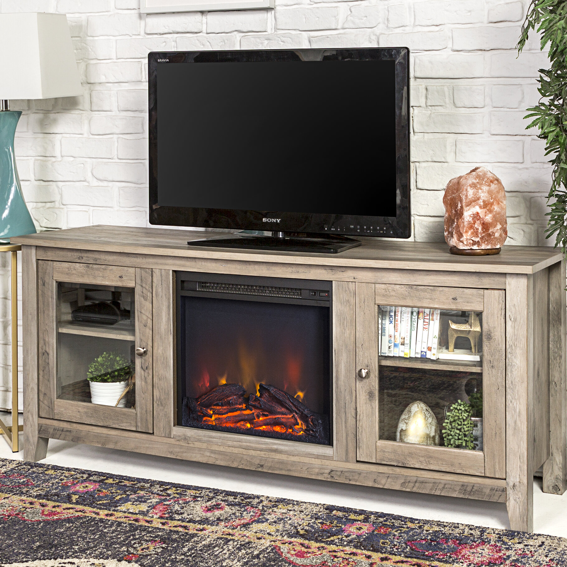 50 Decorative Electric Fireplace You Ll Love In 2020 Visual Hunt