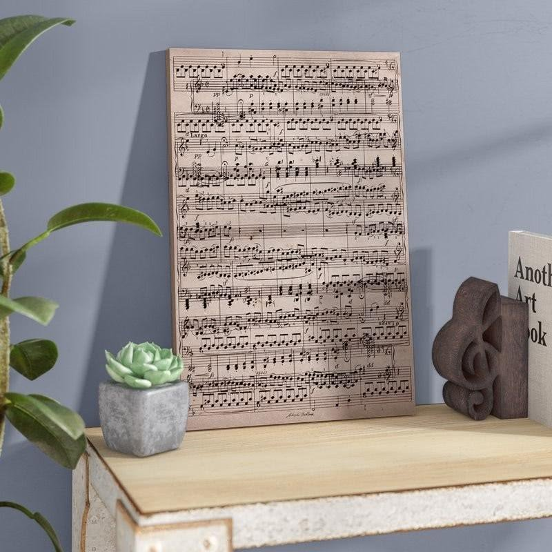 50 Music Note Wall Decor You Ll Love In 2020 Visual Hunt