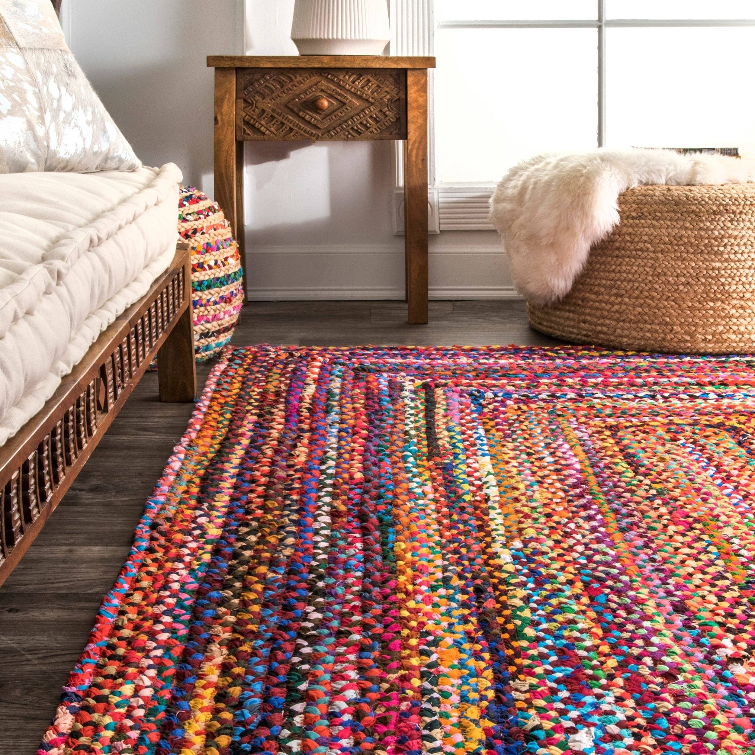 Kistler Hand-Braided Multi Area Rug