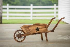 Decorative Wheelbarrow Planter