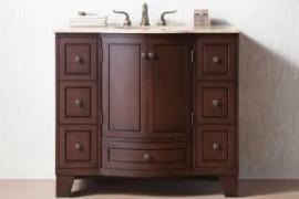 Mission Style Bathroom Vanity