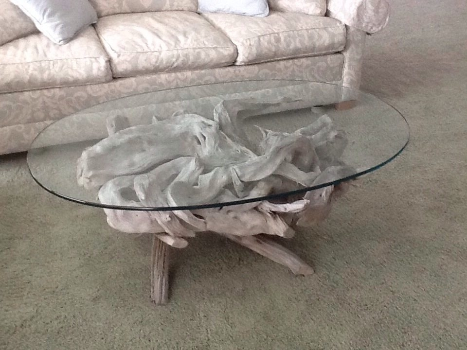 Maine Driftwood Coffee Table | Driftwood Decor