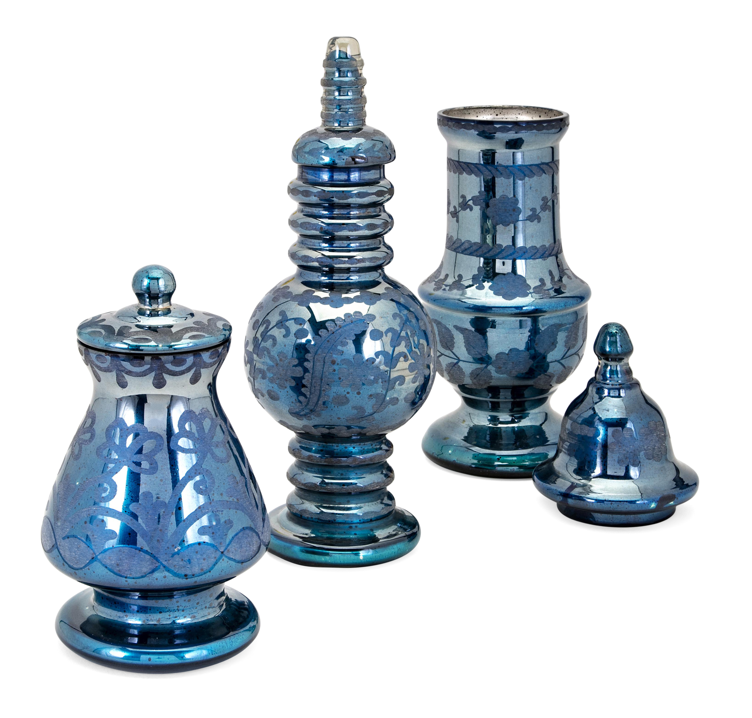 Marsha Lidded 3 Piece Decorative Jar Set